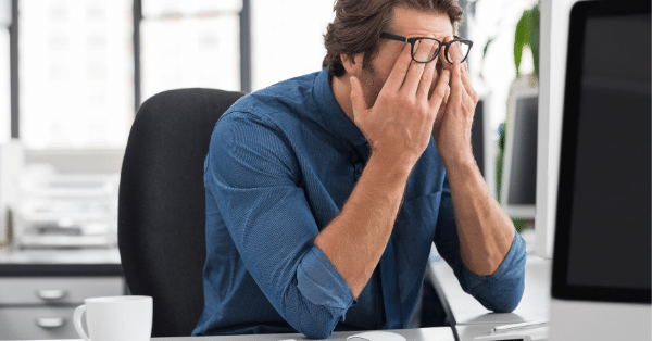 IT Security Problems Frustration